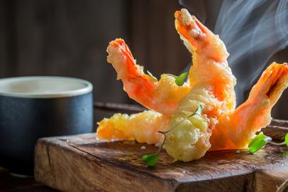 Aprenda a fazer a receita do tempurá!