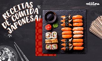 Conheça 3 receitas de comida japonesa!